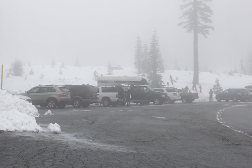 Bunny Flat Parking Lot