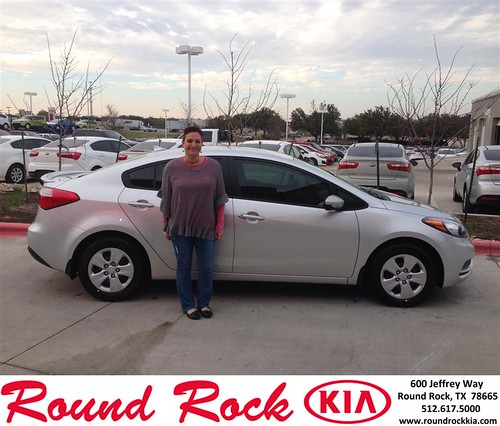 Thank you to Violet Marin on your new 2013 #  #  from Jorge Benavides and everyone at Round Rock Kia! by RoundRockKia