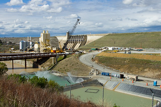 Massive Renovation Of Folsom Dam 8034