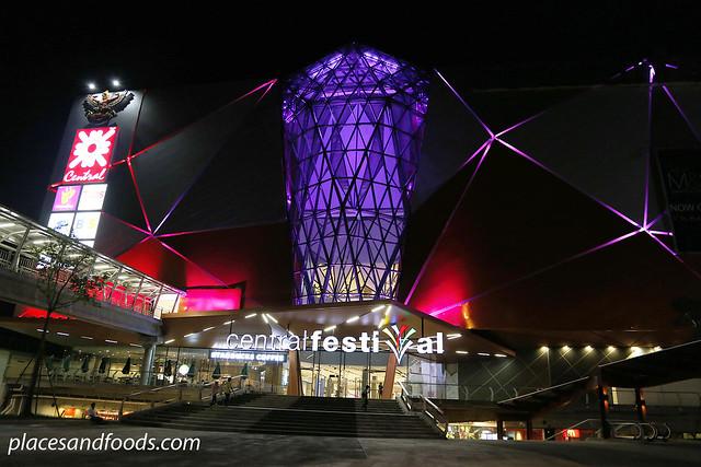 hatyai central festival mall night