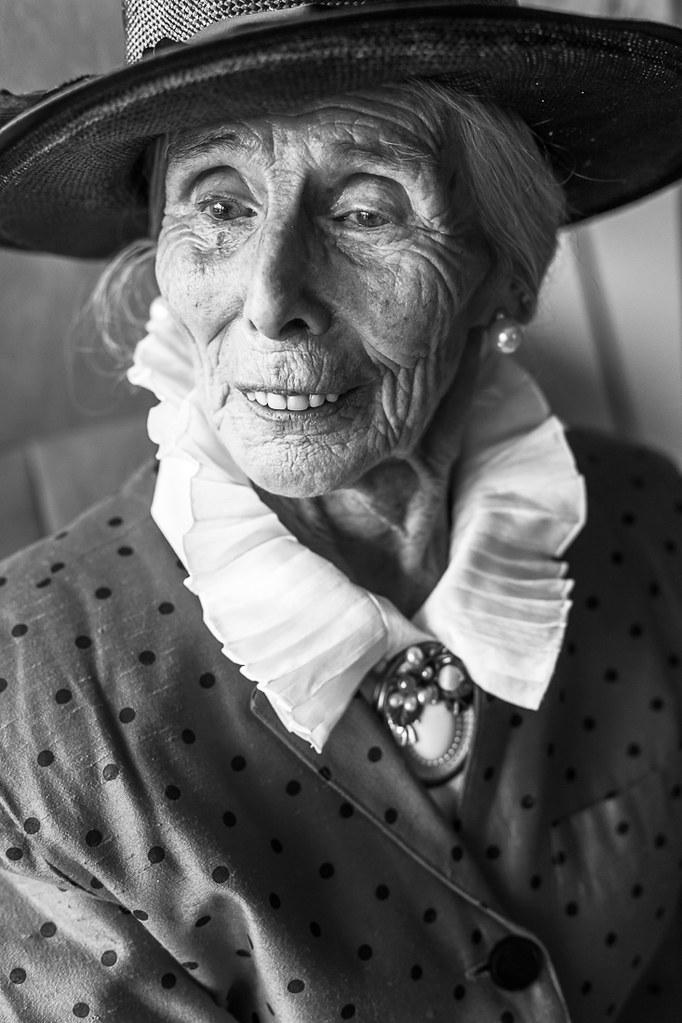 Portret Oma, Noordwijk, 2012