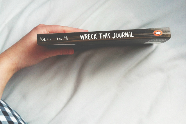 vivatramp blog uk lifestyle wreck this journal creative
