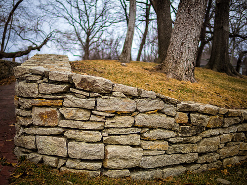 the stone wall