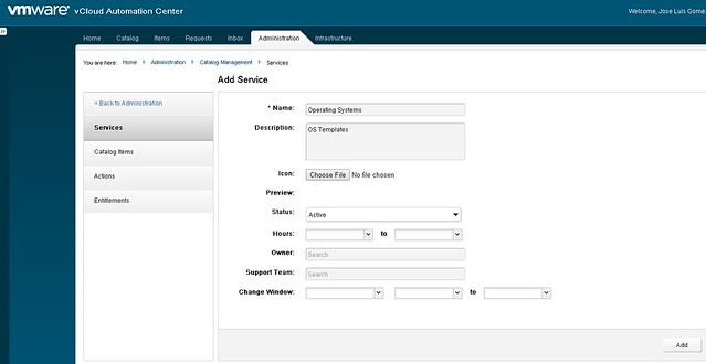 Cmo instalar vcloud automation center vcac 60 parte 6 es importante que exista el servicio previamente y que los blueprints deseados se encuentren publicados malvernweather Image collections
