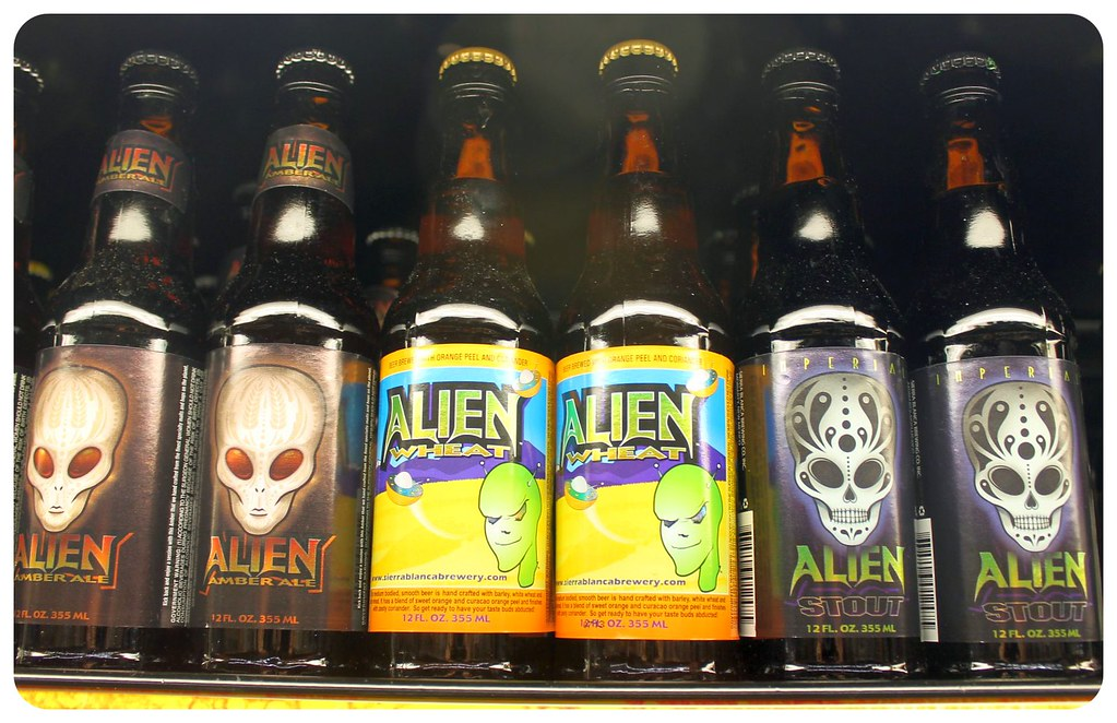 roswell new mexico alien beer
