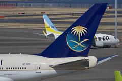 サウジアラビア皇太子のB747SPを撮りに行く