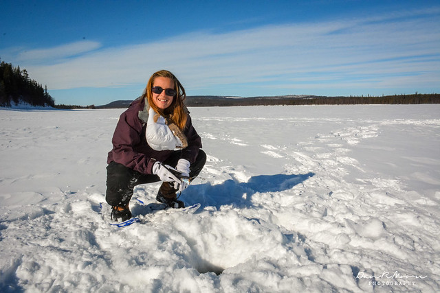 An Arctic Adventure in Swedish Lapland - A Cruising Couple Ice Fishing