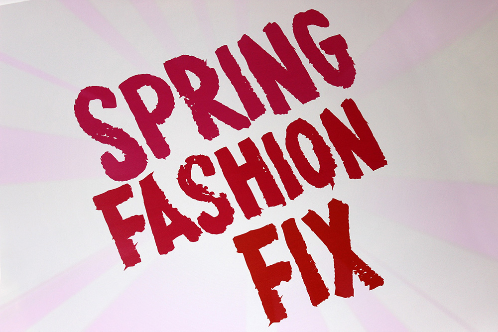 Spring Fashion Fix Event at The Birmingham Bullring 2014 Style Trends Forecast