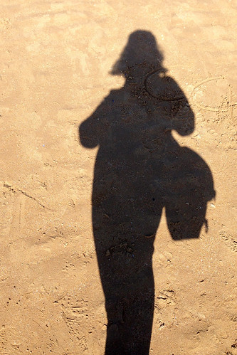 Shadow at Omaha Beach