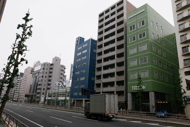 長榮東京辦公室 泉岳寺站