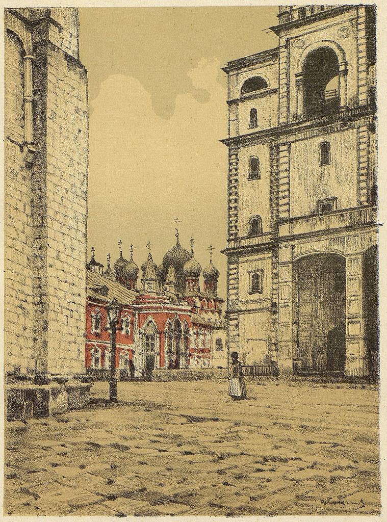 老莫斯科风景画6