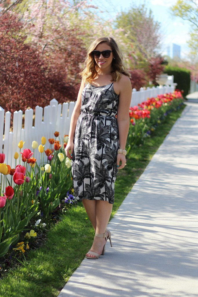 Black & White Spring Style on Living After Midnite