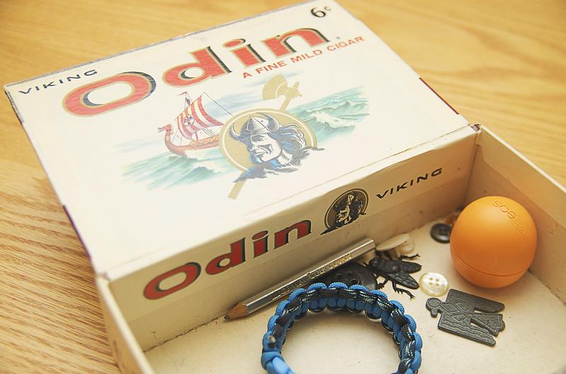 29/365. odin's odin cigar company box.