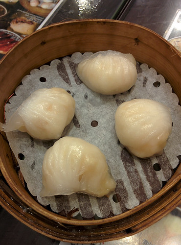 Ha Gao (shrimp crystal dumplings)