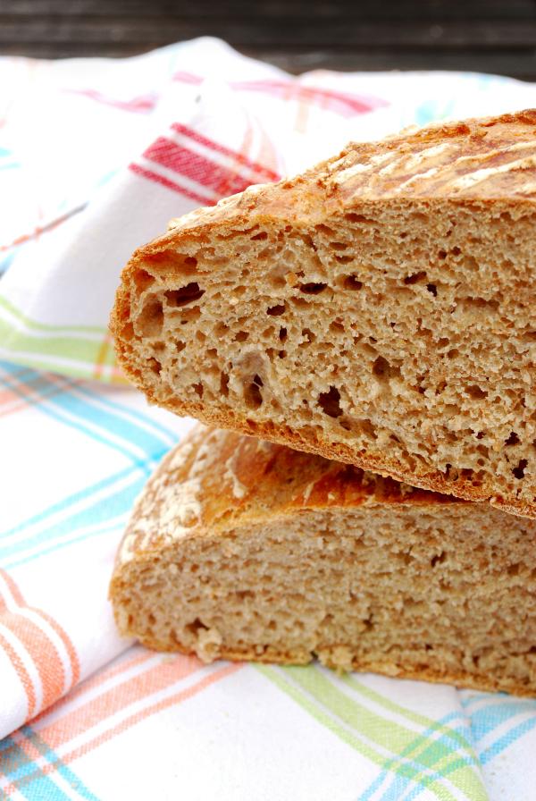 pain de campagne {a mi manera} con centeno y espelta integral