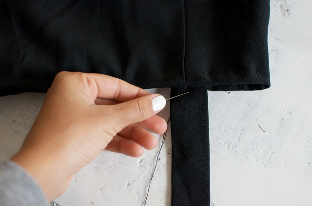 DIY shift pinafore dress www.apairandasparediy.com