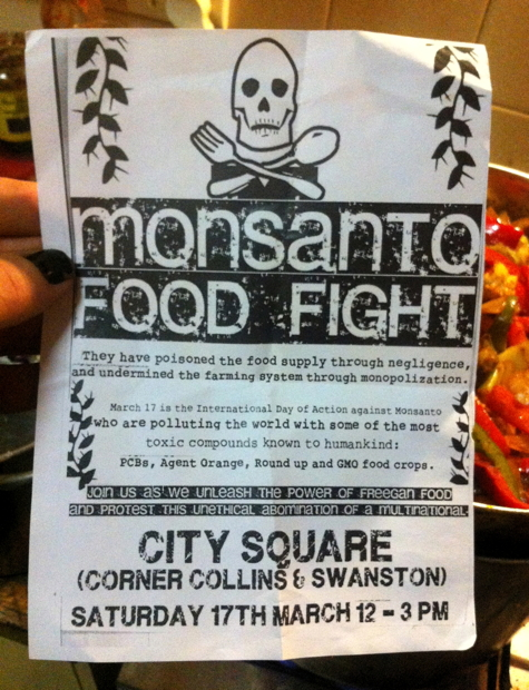 Monsanto Day flier