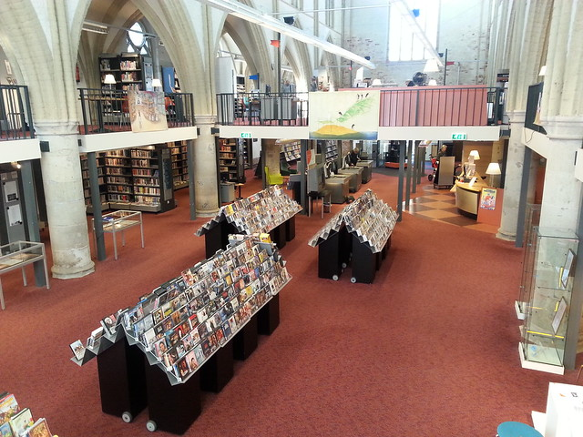 Bibliotheek Zutphen in de Broederenkerk