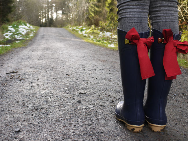 how-to-wear-wellington-boot