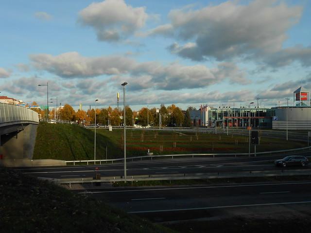 Hämeenlinnan moottoritiekate ja Goodman-kauppakeskus: Työmaatilanne 13.10.2013 - kuva 11