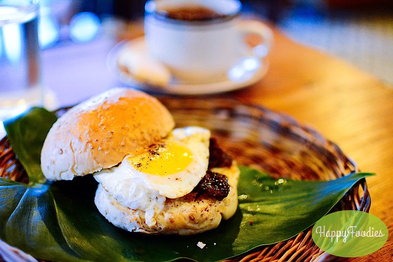 Beef Tapa Egg Sandwich (Php 50)