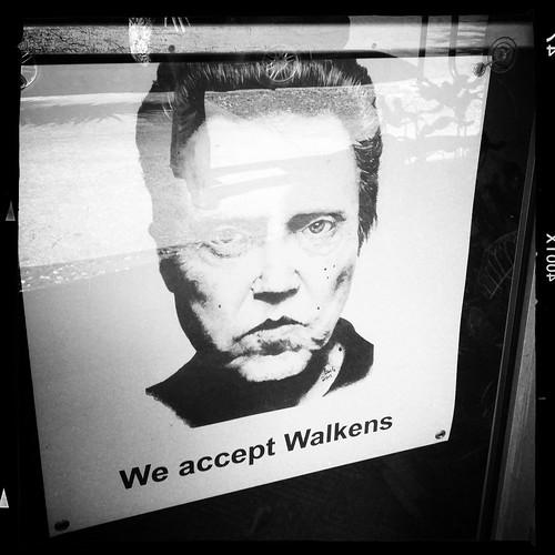 We accept Walkens