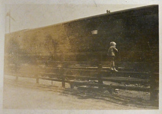 Watching the trains c.1926