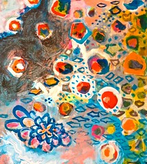 the step between night-fade and daybreak : liquid painting, scott richard, sacramento (2015)