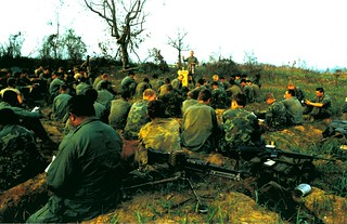 H Co, 2d Battalion, 5th Marines, Easter Service, 1969