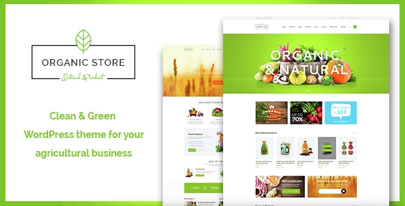 Organic Store v1.3 - Organic Food & Eco Products Theme