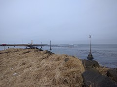 Grotta island and lighthouse
