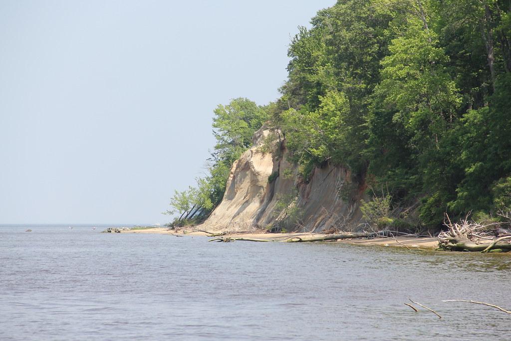 Horsehead Cliffs Map - Westmoreland County, Virginia ...