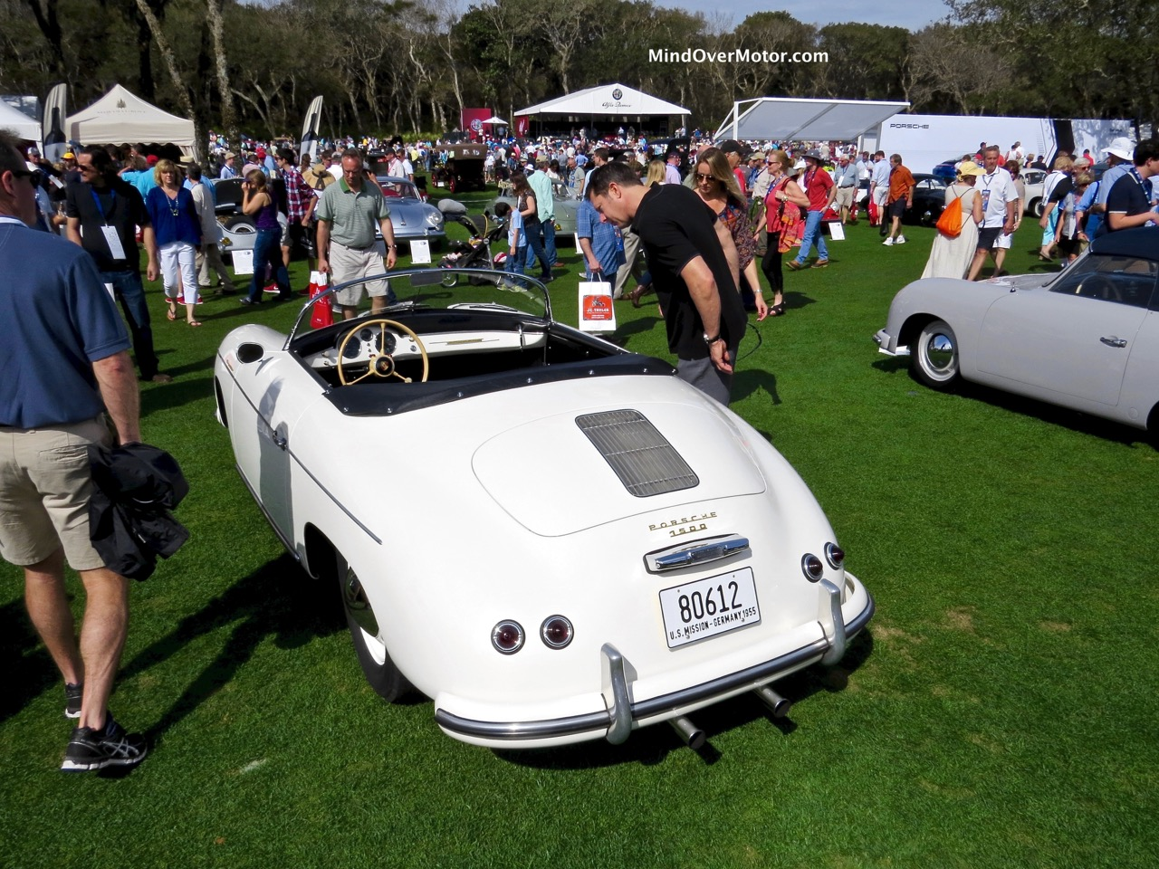 1955 Porsche 356 Speedster Rear