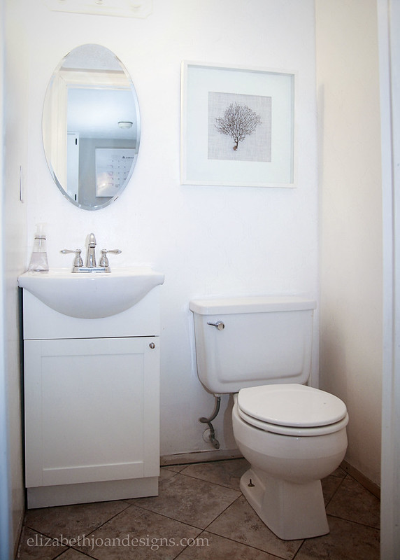 White Bathroom Before Seafan