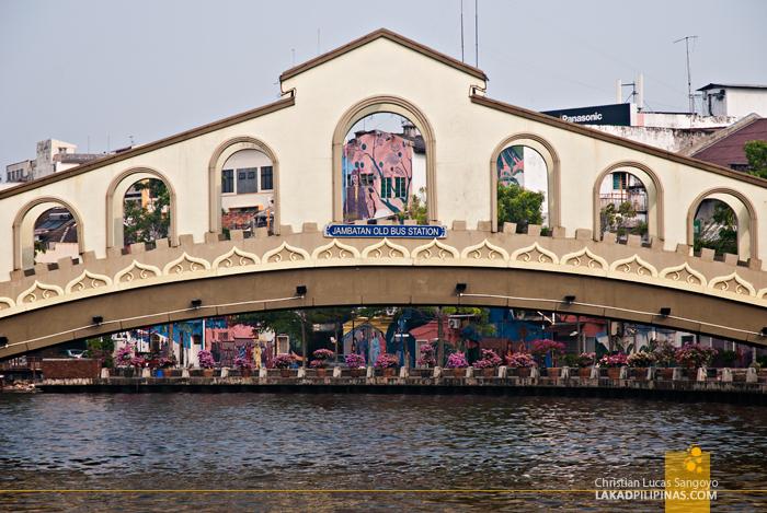 Melaka River Bridge