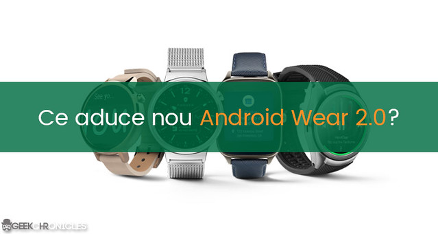 ce aduce nou android wear 2.0