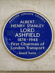 Photo of Albert Henry Stanley blue plaque