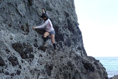 立ち岩海岸ルート