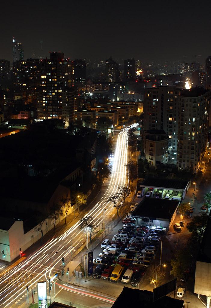 Santiago nocturno 1