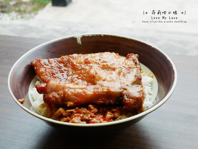 淡水捷運站附近餐廳美食黑殿排骨飯 (5)