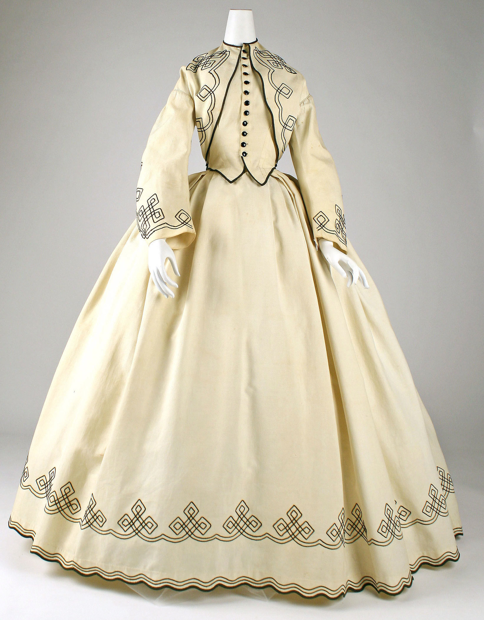 1860-64, American, cotton. metmuseum