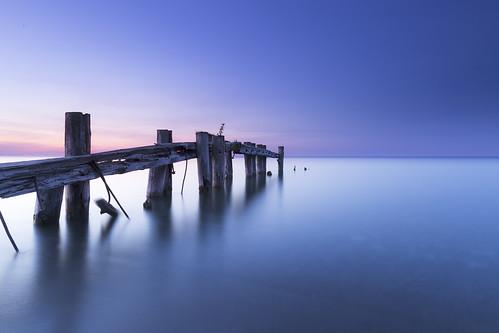 blue sunset lake seascape ontario canada water canon landscape evening dock dusk hamilton calm 6d conservationarea 24105f4l leefilters lee06ndgrad 50point
