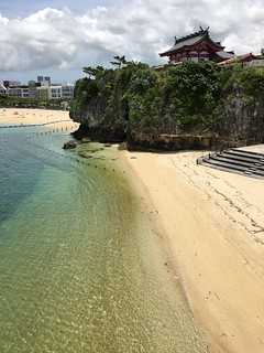 Image of Naminoue Beach (波の上ビーチ) Sandy beach.
