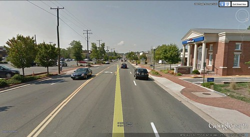 Vienna, Virginia (or is it Oakton?) (via Google Earth)