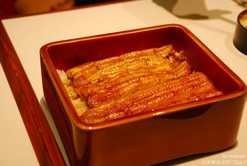 鰻魚飯(雪size)特寫