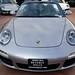 2009 Porsche 911 Carrera S (997) Cabriolet GT Silver on Black in Beverly Hills @porscheconnect 1227