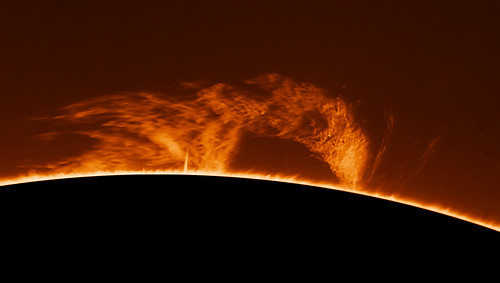 Large Prominence 9th May