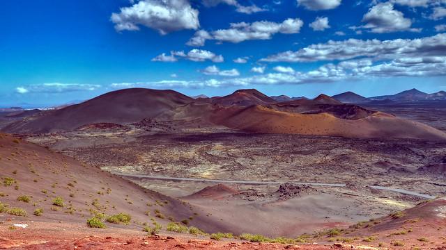0348 - Spain, Lanzarote, Timanfaya HDR