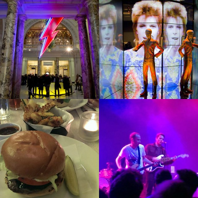 david bowie is, byron burger, cold war kids