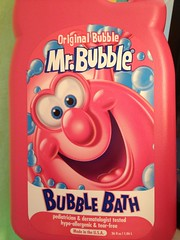 I don't remember Mr. Bubble looking quite so psychotic...